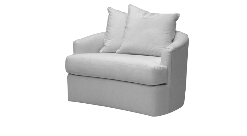 Annette Cuddle Swivel Chair | Norwalk Furnitu