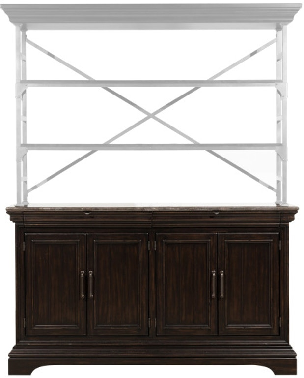 Pulaski Furniture Dining Room Caldwell Sideboard Hutch P012303 .