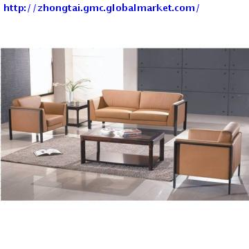 ZT-S175, China Modern Leather Office Sofa Set/ Office Furniture .