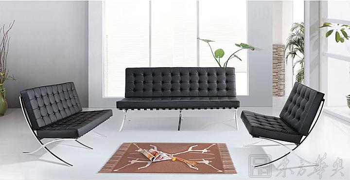 Barcelona Leisure Chair,沙发,休闲沙发,[Barcelona chair]-Modern .