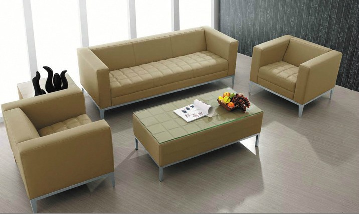 Buy When jen office furniture office sofa fashion real leather .