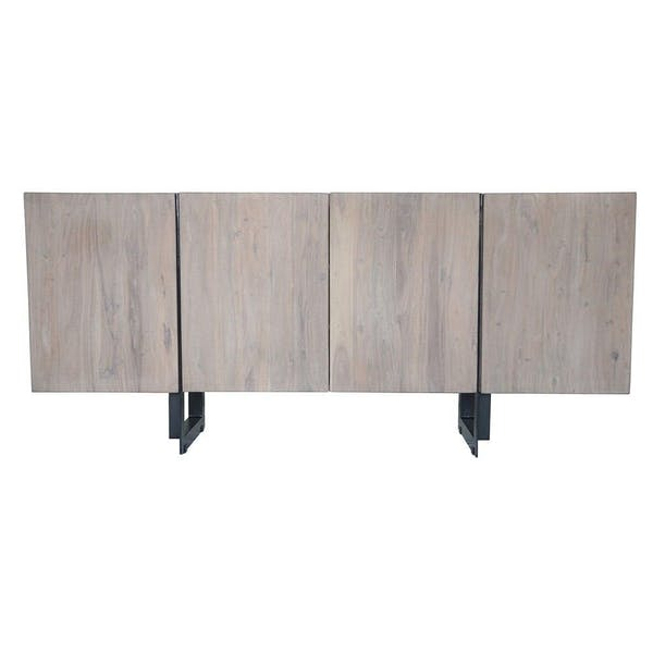 Moe's Home Collection Tiburon Sideboard Large Pale Grey – Modish Sto