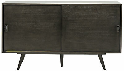 Noir Mahogany Qs Beth Sideboard With Pale Finish GCON189P | eB