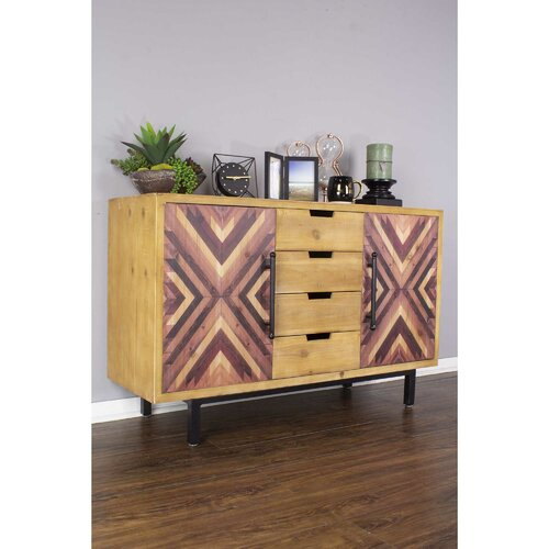 Foundry Select Mallory 47.25'' Wide 4 Drawer Sideboard | Wayfa