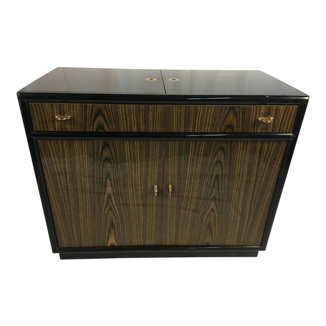 1960s Mid-Century Modern Woodencand Brass Server/Sideboard | Chairi