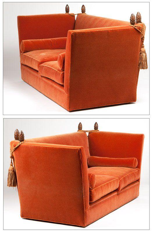 A pair of ''Knole'' sofas : Lot 1124 | Knole sofa, Sofa colors .