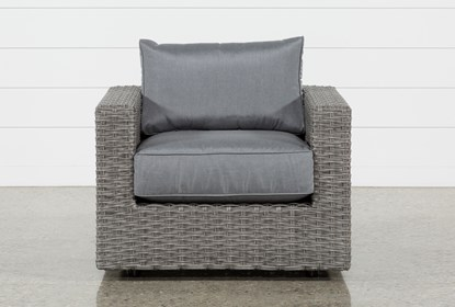 Koro Outdoor Swivel Chair | Living Spac