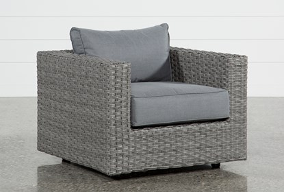 Koro Outdoor Lounge Chair | Living Spac