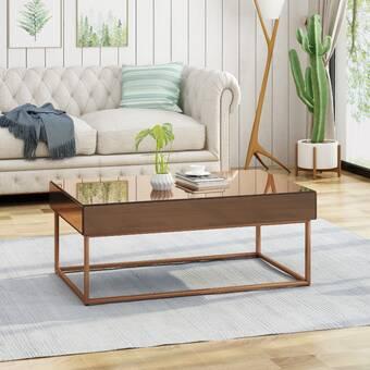 Wrought Studio Palmer Modern Glam Coffee Table | Wayfa