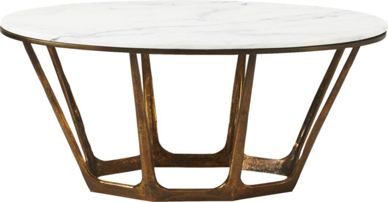 Parker Oval Marble Coffee Table | Oval marble coffee table, Marble .