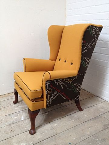 Parker Knoll meets Paul Smith 'Upcycled' | Chair upholstery .