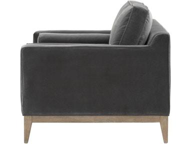 Parker Post Modern Sofa Chair 6602-1.DDOV/