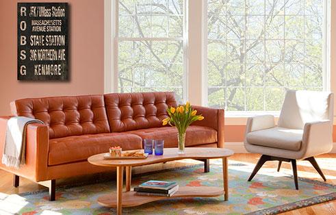 Circle Furniture - Parker Sofa | American Leather | Circle Furnitu