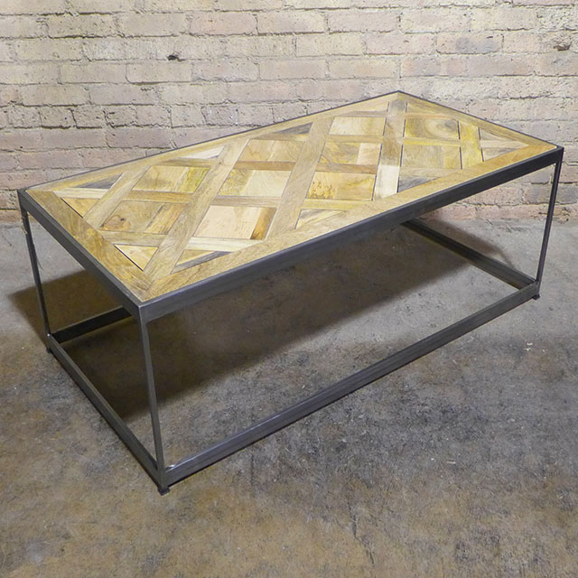 Parquet Coffee Table - Nadeau Chica