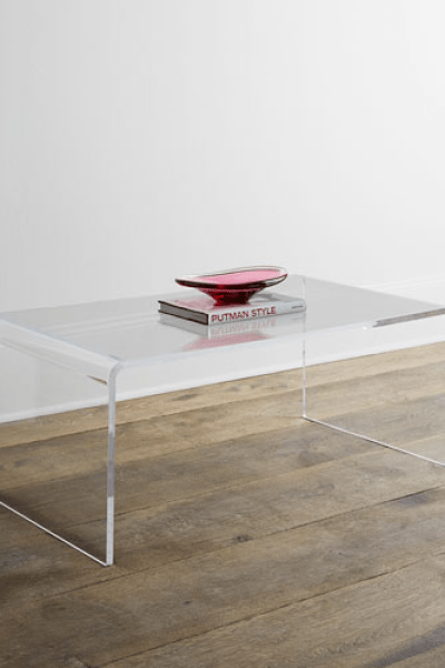 Daily Find | CB2 Peekaboo Acrylic Console Table - copycatch