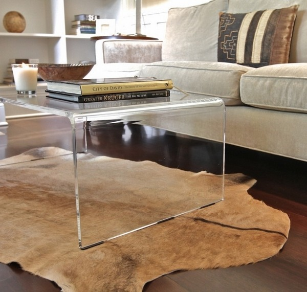 40 Lucite coffee table ideas – Fancy designs made of acryl