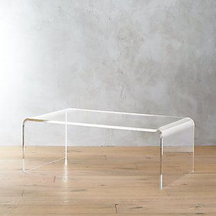 Peekaboo Acrylic Tall Coffee Table + Reviews in 2020 (With images .