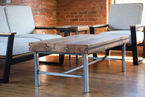 Mill Towne Collection - Reclaimed wood Coffee Table made from .