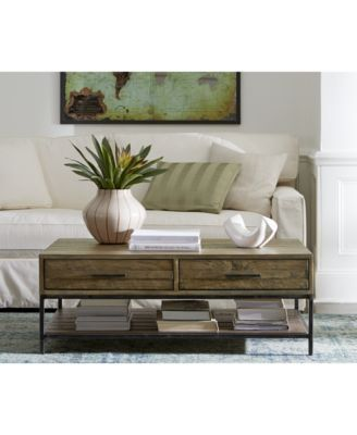 Gatlin Coffee Table, Created for Macy's (With images) | Pallet .
