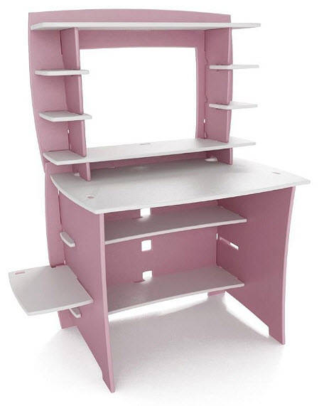 Kids pink computer desk – WhereIBuyIt.c