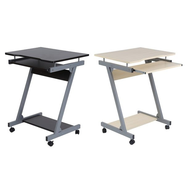 Shop Portable Z-modle Computer Desk Home Office Furniture .