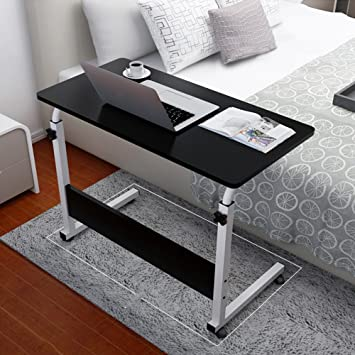 Amazon.com : Overbed Table Laptop Cart, Portable Household .