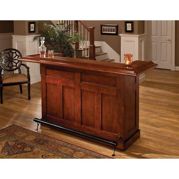 Darby Home Co Potomac Bar with Wine Storage & Reviews   Wayfa
