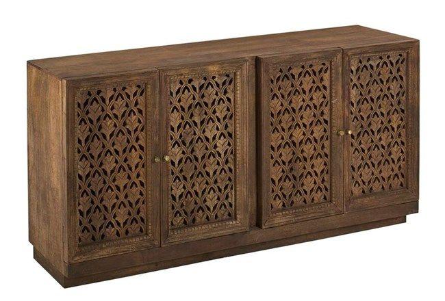 Rani 4 Door Sideboard - 360 | Sideboard, Sideboard buffet, Buffet .