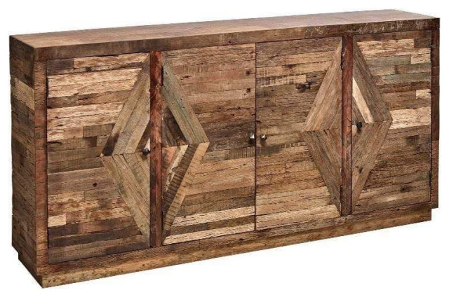 Kensley Sideboard 40x80x16 - Rustic - Buffets And Sideboards - by .