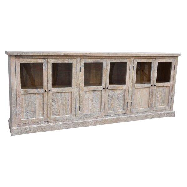 Gracie Oaks Virpi 96'' Wide Mango Wood Sideboard | Wayfa