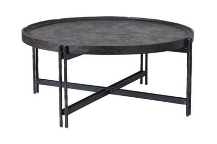 Reclaimed Elm & Cast Iron Coffee Table | Iron coffee table, Coffee .