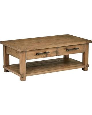 Big Savings for Modern Coffee Table, Solid Reclaimed Pine Wood .