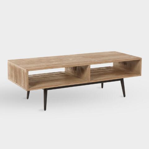 Reclaimed Pine Quinn Coffee Table | World Mark