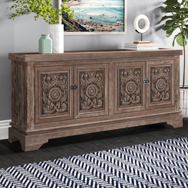 Kentshire Reclaimed Pine 4 Door Sideboard & Reviews | Joss & Ma