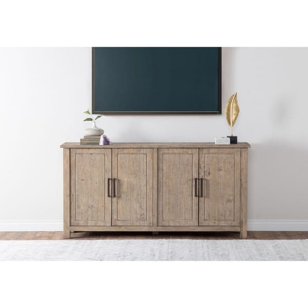 Shop Aires Reclaimed Wood 72-inch Sideboard by Kosas Home .