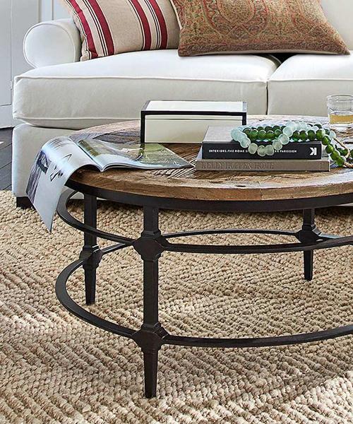 Reclaimed Wood Coffee Table - Rustic Furnitu