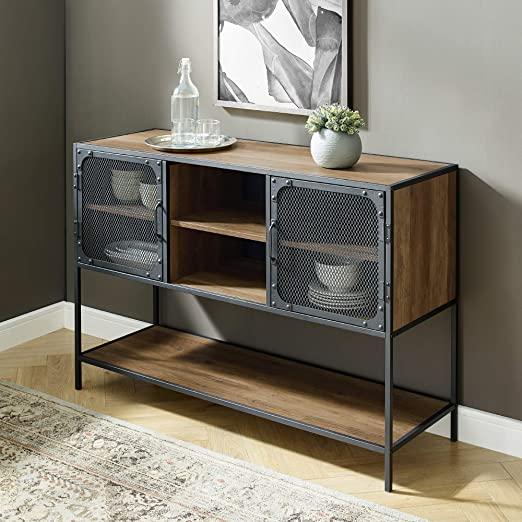 Amazon.com - Walker Edison Furniture Company Industrial Metal Mesh .