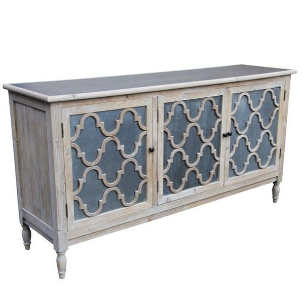 Trellis Sideboard | Vintage cupboard, Moroccan furniture, White .