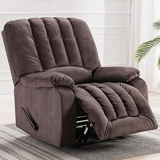 Amazon.com: Recliner Chair – Overstuffed Recliner Chair Fabric .