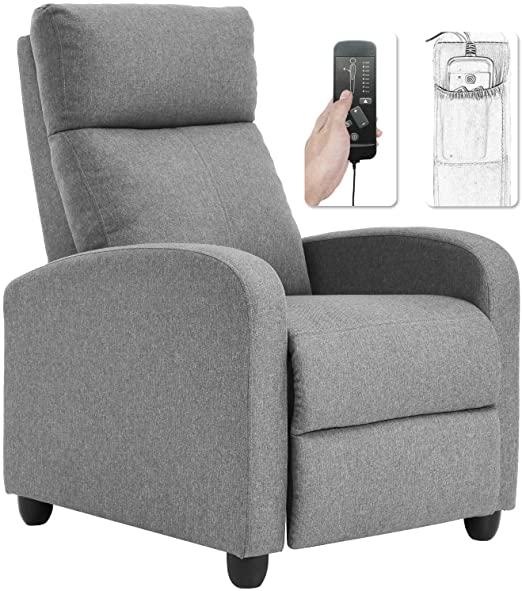 Amazon.com: Recliner Chair for Living Room Winback Single Sofa .