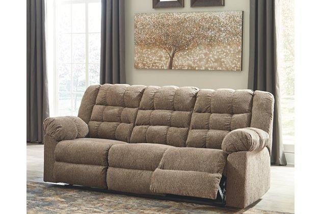 Workhorse Reclining Sofa | Ashley Furniture HomeSto