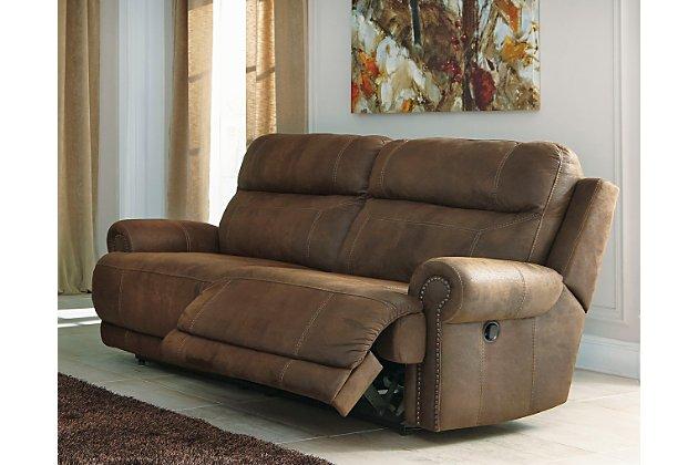 Austere Reclining Sofa | Ashley Furniture HomeSto