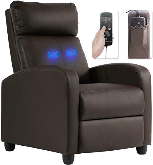 Amazon.com: Recliner Chair for Living Room Massage Recliner Sofa .