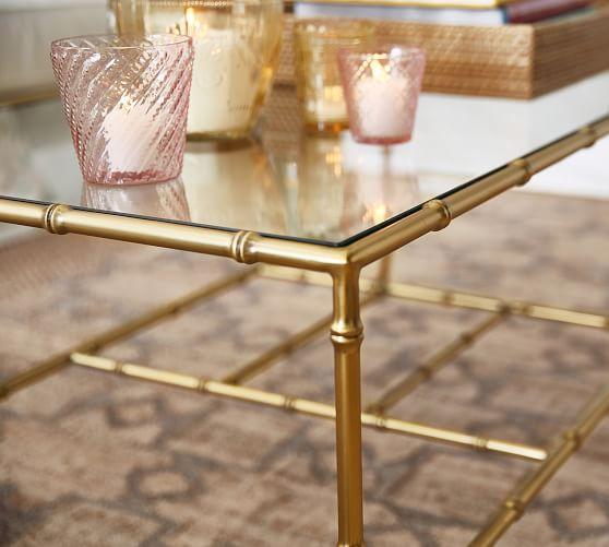 Leo Rectangular Coffee Table | Pottery Ba