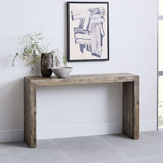 Emmerson® Reclaimed Wood Console - Stone Gr
