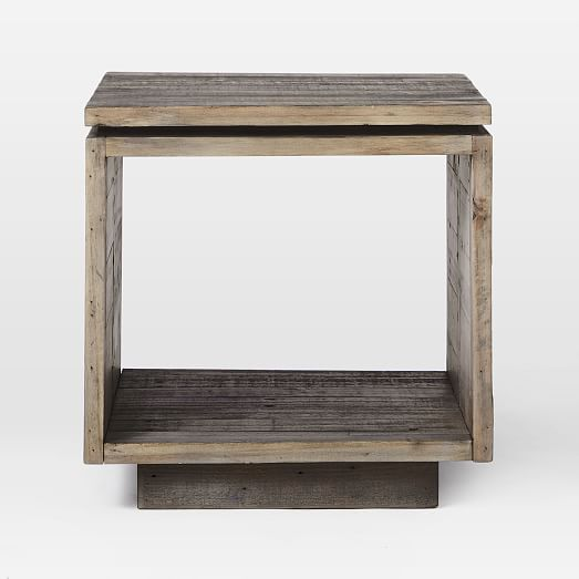Emmerson® Modern Side Table - Reclaimed Pi