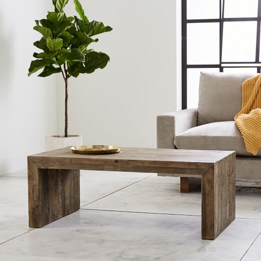 Emmerson® Reclaimed Wood Coffee Table - Stone Gr