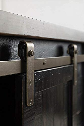 "Amazon.com: Jofran Madison County 32"" Barn Door Accent Cabinet, 32 ."