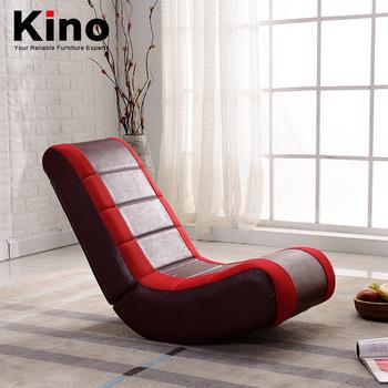 Modern Creative Folding Recliner Rocking Chair Leather Lazy Sofa .