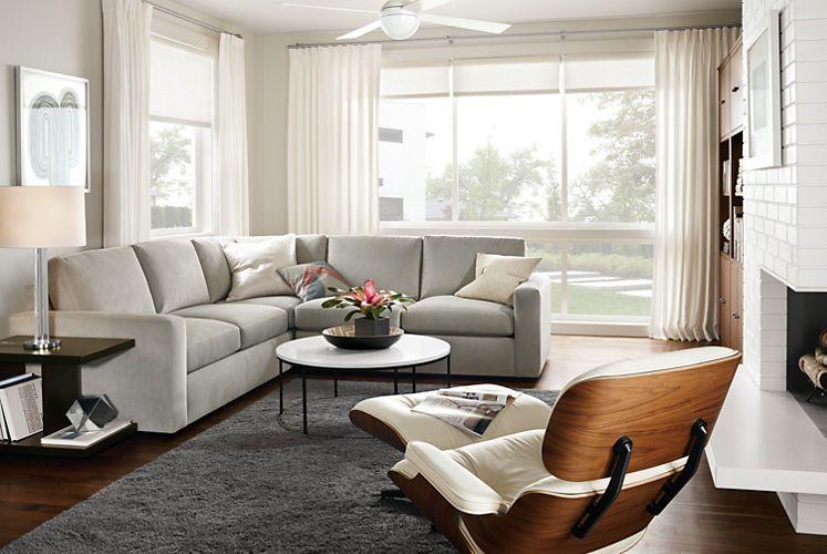 20 Modular Sofa Designs with Modern Fla